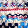 Trabajos textiles. Materiales: hilos y tejidos