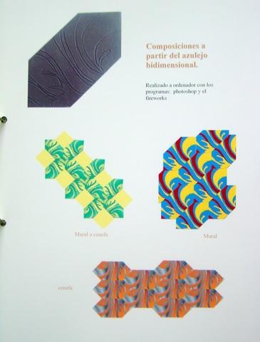 Diseño cerámico en la arquitectura. Material: gres