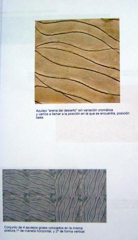 Cerámica arquitectónica. Estudios y proyectos ejecutados con Photoshop.